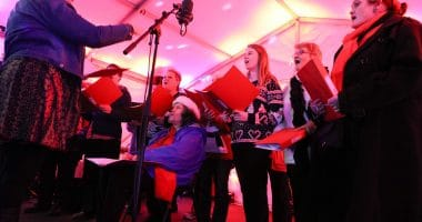 Choir, poplar singers, poplar union, music, Christmas, arts, culture, community, things to do, Christmas 2018, things to do with the family, east London