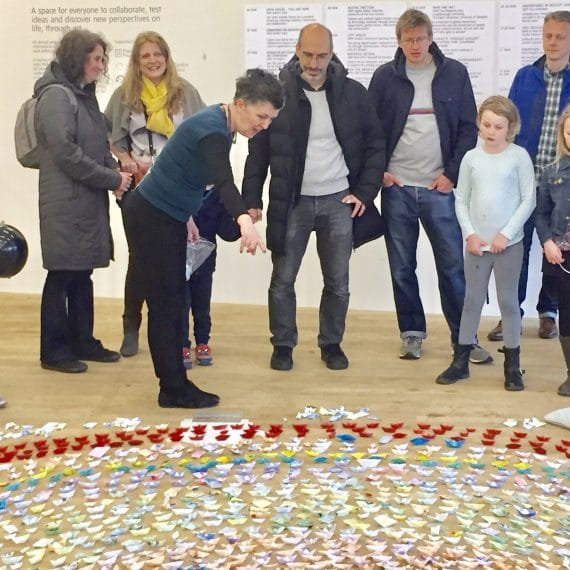 poplar union, exhibition, little-paper-boat, refugees, art, bern-o'donoghue