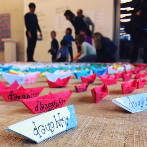 poplar union, exhibition, little-paper-boat, refugees, art, bern-o'donoghue