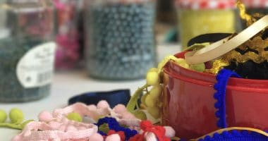 textiles, arts, crafts, poplar union, upcylcing, east London, workshop