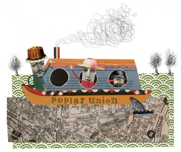 Poplar union, art, culture community, east London, Canal