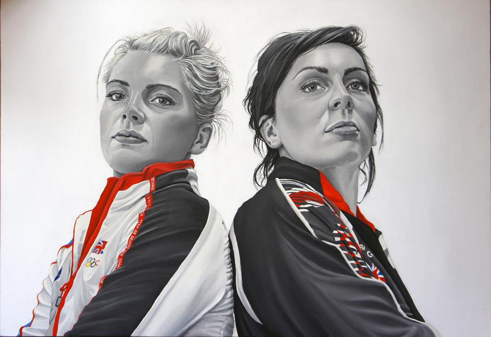 , Teresa With exhibition at Poplar Union, Women in Sport - Women in Focus Festival
