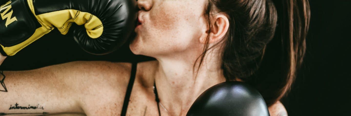 Women in Focus Festival, boxing, Poplar Union. East London, Art Centre