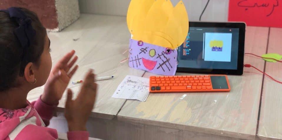 Creative coding, Poplar Union, Kano computing, East London, Coding workshop for kids