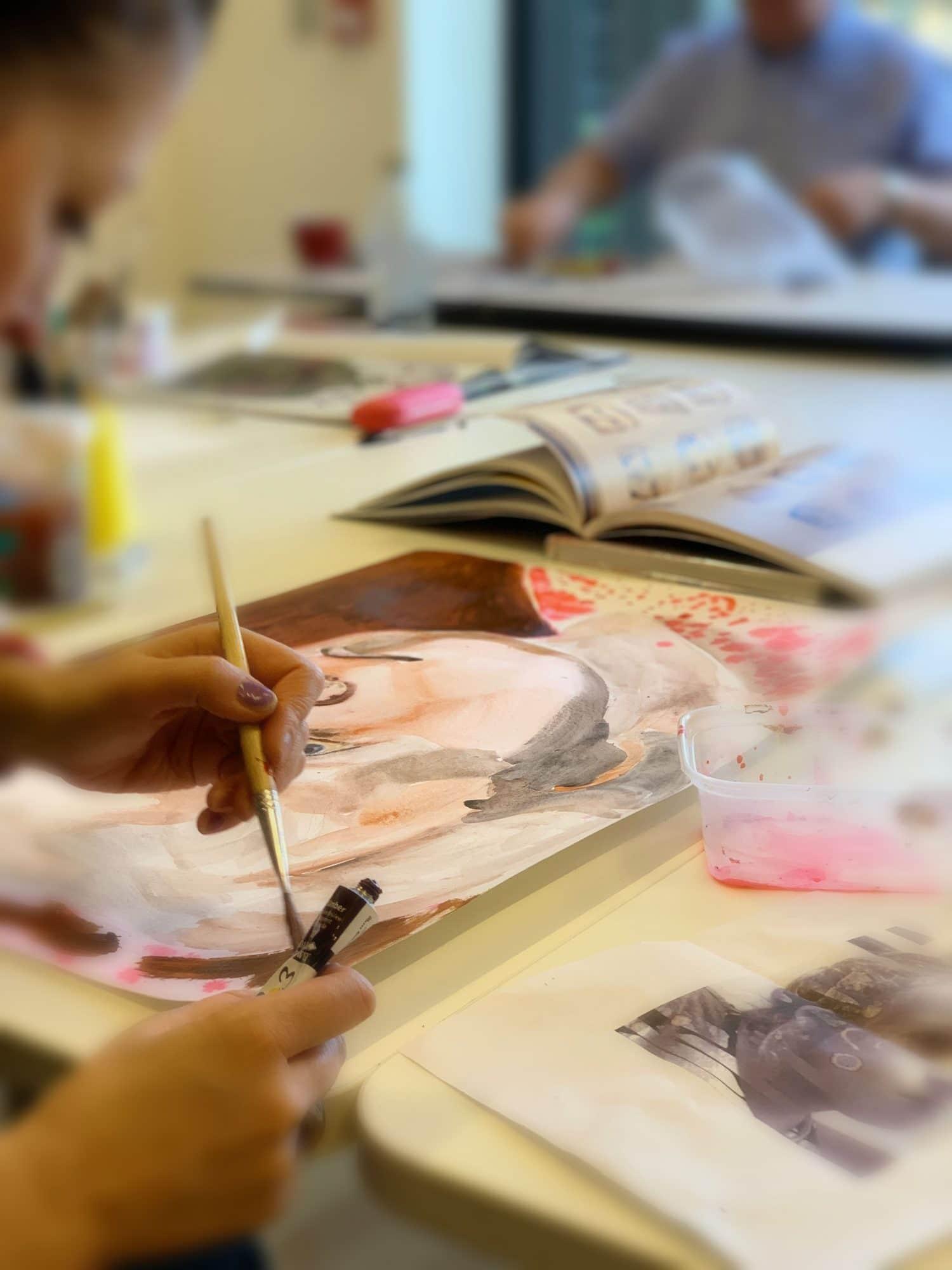 adult art class, workshop, art, Poplar Union, East London, arts and community venue, multi disciplinary arts centre, theatre, cafe, gig venue, workshops, community, Poplar, Tower Hamlets