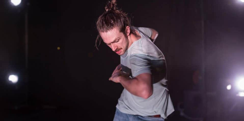 Zia Ahmed, Lewys Holt, CAJ COLLAB, Poplar Union, Dance, theatre, performance, east London, improv, Mile End, Limehouse, arts, culture, whats on, things to do