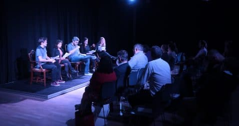 Poplar Union, art centre, east London, your visit, Poplar, Scratch Crackle and POP, theatre, spoken word, poetry,