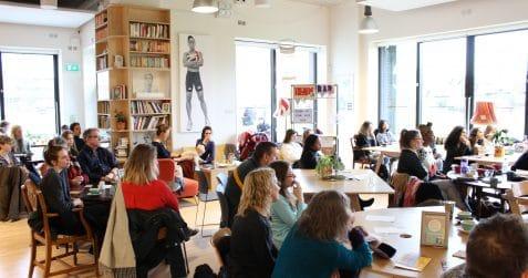 Poplar Union, art centre, cafe, e5 Roasthouse, e5 Bakehouse, bakery, food, drink, east London, your visit, Poplar, Women in Focus Festival 2018, theatre, spoken word, poetry,