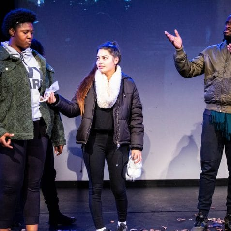 Graveyard Gang, Purple Moon Drama, Poplar Union, East London, play, black history month, things to do, theatre, acting, tower hamlets