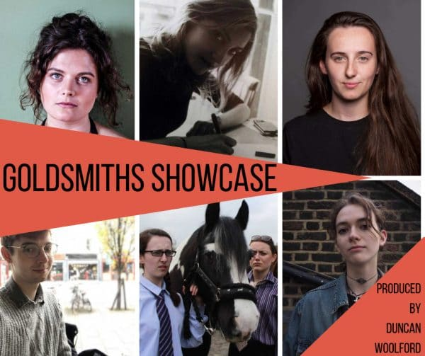 April Spiers, Niamh O'Brien, Evie Harries, Francesca Thomspon, Barry Brian and Bean, Poplar Union, Duncan Woolford, Goldsmiths University, Goldsmiths Showcase, new talent, theatre, scratch, London, East London, emerging talent, December, things to do, free
