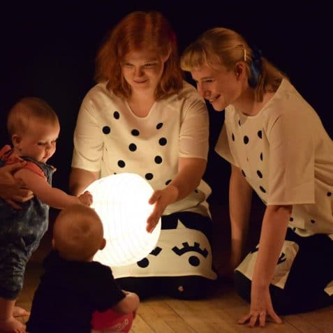 The Paper Moon, Tiny Light Theatre, Poplar Union, children's theatre, kids and family, East London, things to do, new parents, London, theatre for babies, art, Culture, Art centre