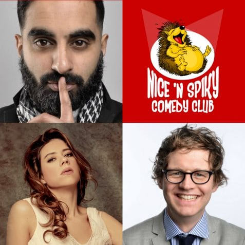 Tez Ilyas, Mark Dolan, Lou Sanders, Poplar Union, Nice n Spiky, Comedy, stand up, east London, female comedian, chortle, soho theatre, Poplar, Mile End, Bow, Limehouse, comedy near me, stand up comedy London, things to do
