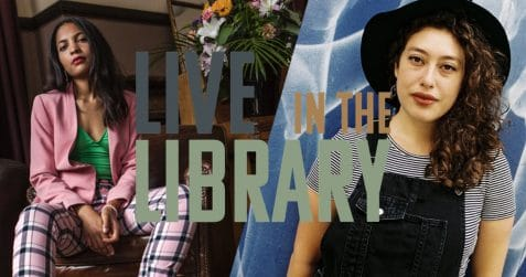 Live in the Library, Poplar Union, Sans Souci, Nina Fine, live music, pizza night, e5 Roasthouse, singer songwriter, East London, Tower Hamlets, gigs in London