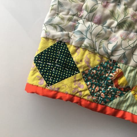 Sew Thrifty, Poplar Union, sewing workshop, affordable sewing class, upcycle, quilt making, January 2019, East London, Mile End, Limehouse, Maud Barrett, textiles, arts & crafts, things to do