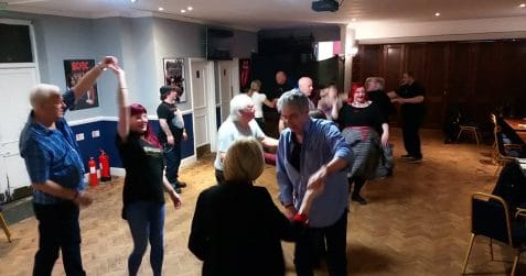 Chicken Shack, dance night, jive, rock n roll, East London, jive dance class, May, Limehouse, Bow, Poplar, Mile End