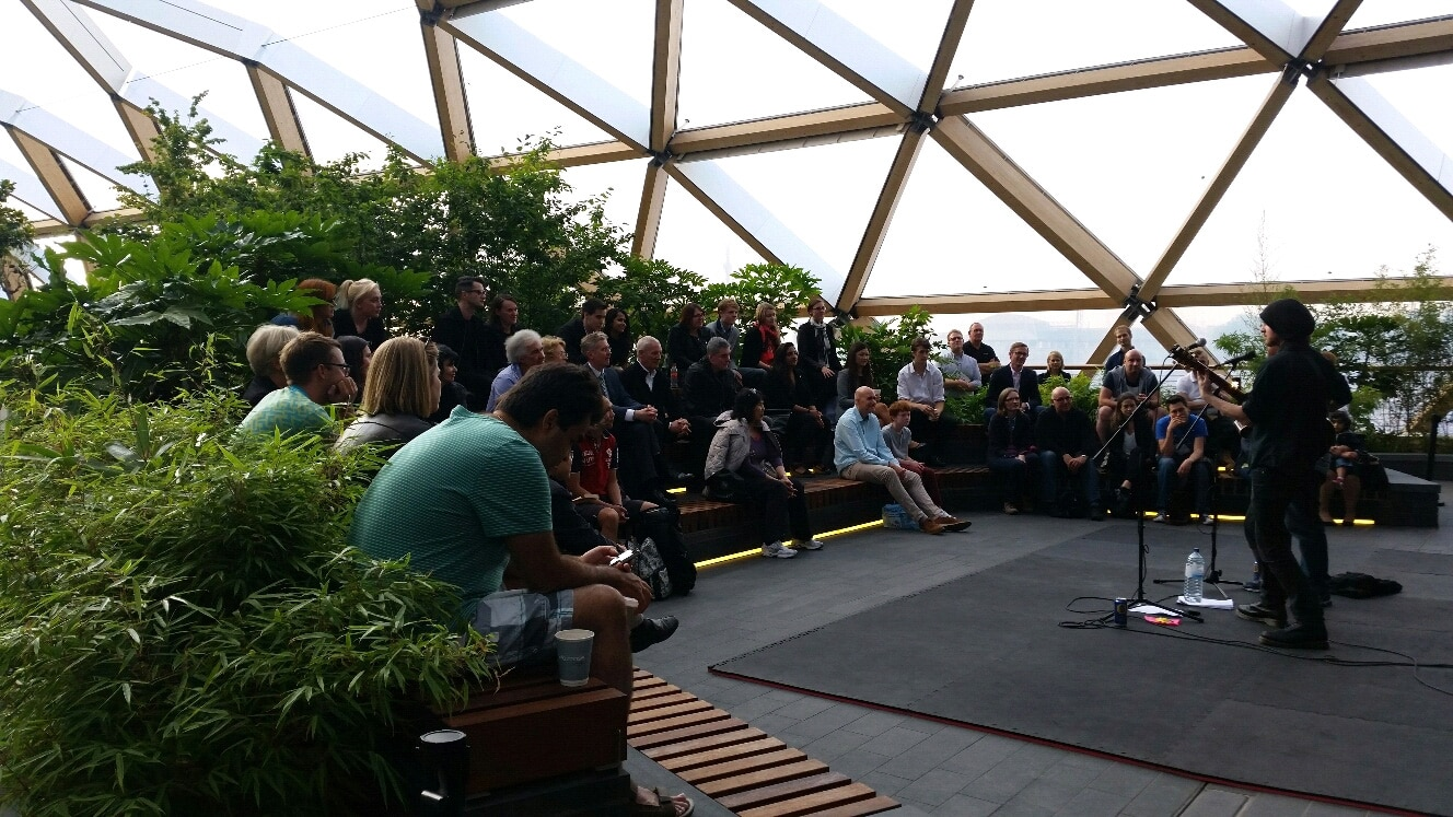 bloom festival, cross rail roof gardens, Canary Wharf, the space, poplar union, things to do, artists call out, local talent, tower hamlets, East London, Poplar, music, culture, theatre, spoken word, June 2019, August 2019