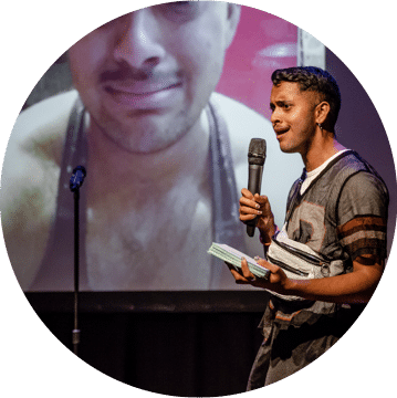 LGBTQ+ Comedy Fundraiser, Dom Patmore, Amelia Stubberfield, Charlie George, Elf Lyons, Annabel Pribelszki, Krishna Istha, Poplar Union, East London, stand up comedy, comedy night near me, Tower Hamlets, Pride 2019, LGBTQ+ event, ELOP, Fundraiser