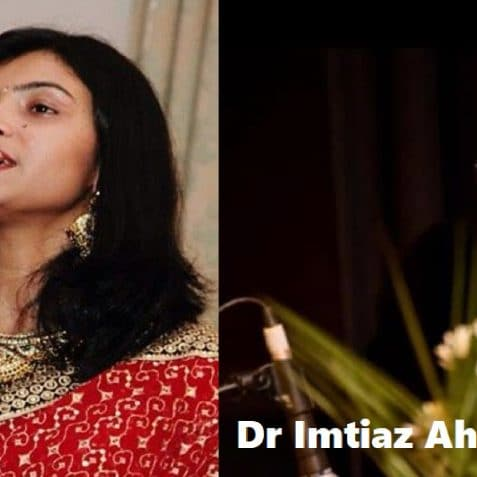 Saudha Sanchita pal and Dr Imtiaz Ahmed