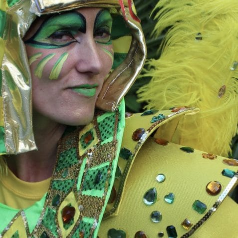 carnival costume making, Poplar Union, Carnival 2019, Mia Harris, nottinghill carnival, hackney carnival, kids workshop, things to do this summer,