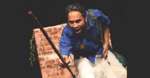 Bangladesh Udichi Shilpi Goshti UK Sangshad present: An Absurd Story, Bangla Drama Festival 2019, Poplar Union, East London, Tower Hamlets