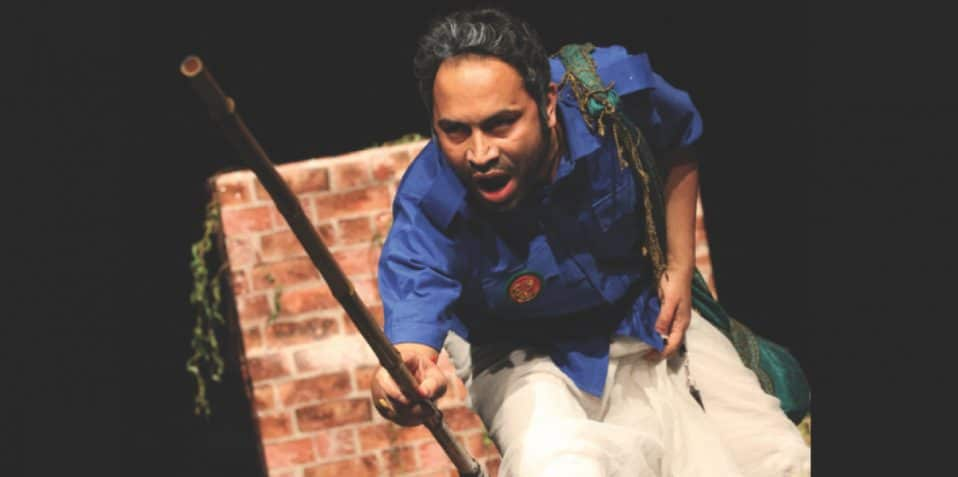 Bangladesh Udichi Shilpi Goshti UK Sangshad present: An Absurd Story, Bangla Drama Festival 2019, Poplar Union, East London, Tower Hamlets