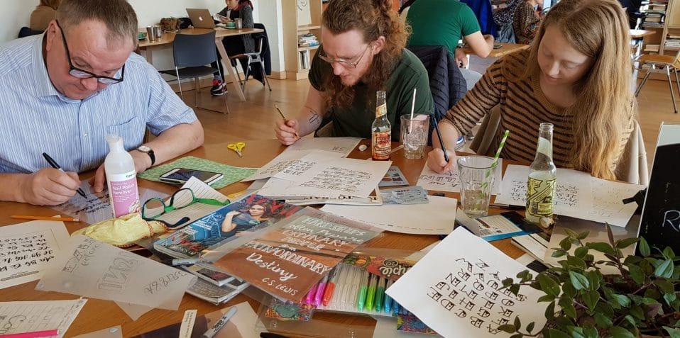 Create Together, Poplar Union, workshop, arts and crafts, help build Poplar Union, East London, local community, Poplar residents