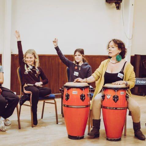Girl Plays Jazz, EFG London Jazz Festival, Poplar Union, music classes for kids, jazz for kids, music workshop, East London, Mile End, Poplar, Tower Hamlets