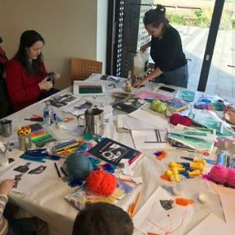 workshop, arts and crafts, march 2020, Poplar Union, East London, things to do, free day out, London, women in focus festival, international womens day