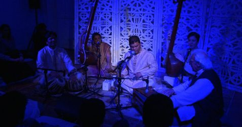Time Chakra & Seasons: Tansens Journey, raag performances, Poplar union, Indian classical music, live music, gigs near me