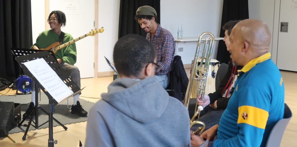 Saturday jam session, poplar union, music, places to practice instruments, jam session, tower hamlets, East London, live stream