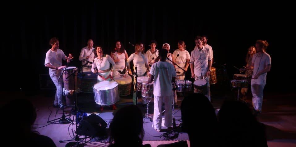 Dendê Nation presents, Poplar Union, afro Brazilian drumming, live music near me, gigs near me, Brazilian music