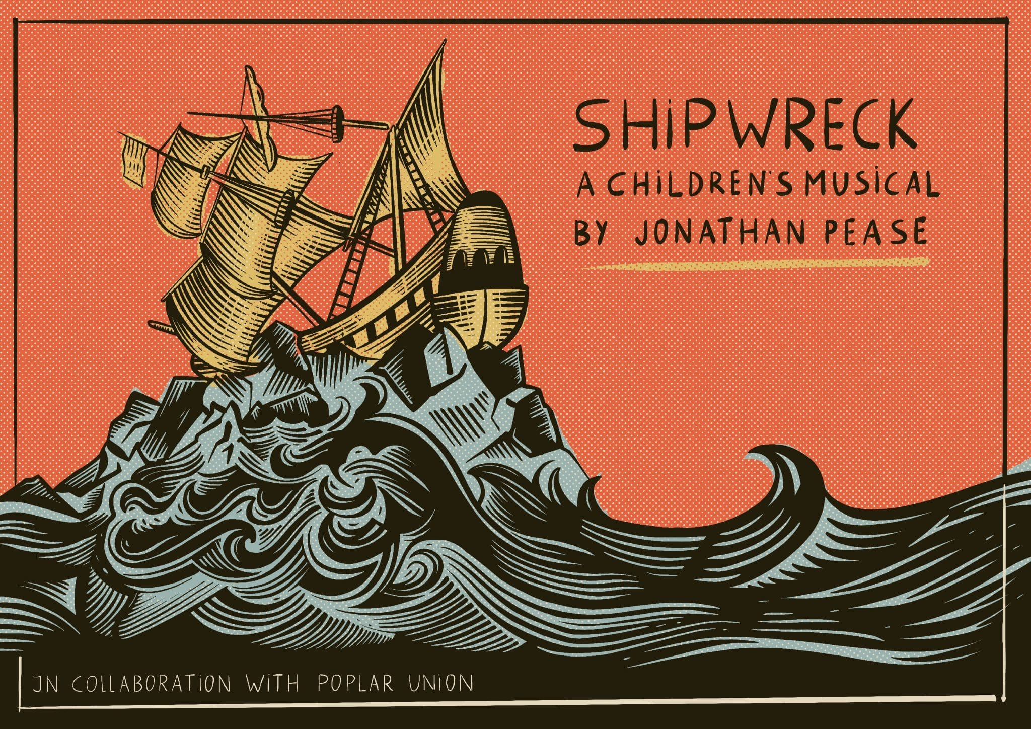 Shipwreck, online choir for kids, poplar union, Jonathan pease, kids musical, music resource for schools, east London, a children's musical, things to do with the kids in lockdown