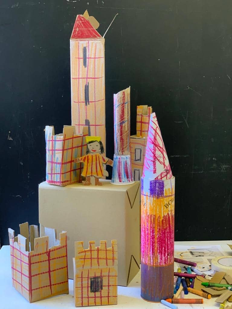 family art club, virtual programme, online, poplar union, Facebook, video tutorial, home schooling, arts and crafts, art workshop for kids, online workshop, stay at home