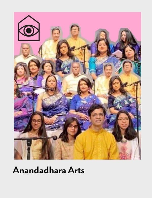 poplar union, Anandadhara Arts, outside in arts festival, 2020, dancer, artist, digital festival, arts festival, South Asian music, commission