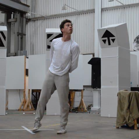 JOEL O'DONOGHUE, poplar union, outside in arts festival, 2020, dancer, artist, digital festival, arts festival