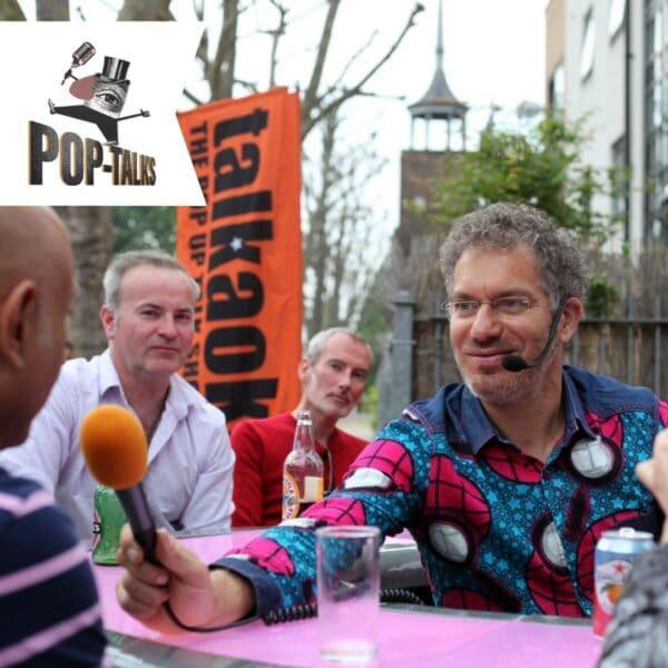 Pop-talks live, Instagram interview, Wednesdays, poplar union, east london, the people speak, Margot and mikey