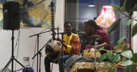 Black History Month, Poplar Union, East London, arts and community centre, tower hamlets, music, African music, kora, Jali Bakary Konteh, Yahael Camara-Onono.