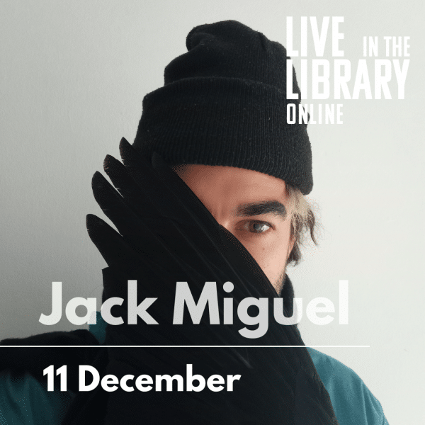 jack Miguel, poplar union, live stream, live in the library online