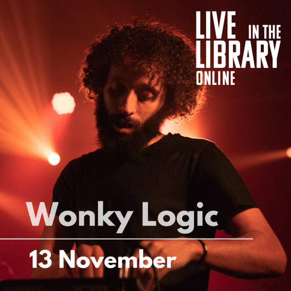 poplar union, live stream, live in the library online, wonky logic