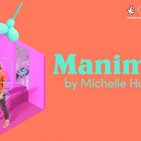Manimals, Michelle Hudson, live online theatre, gaming, performance, theatre about dating, online dating, interactive theatre, valentines 2021, alternative valentines, things to do this valentines, Poplar Union, Greenwich theatre, The Place in Bedford, collaboration, east london