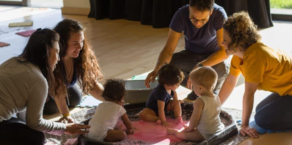 sensory exploration, Abigail Huan, Poplar Union Sensory exploration, baby sensory play, baby group east london, tower hamlets