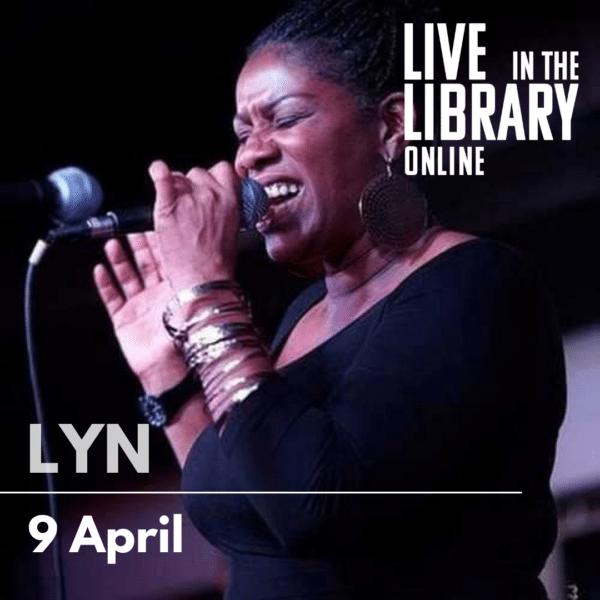 lyn gerald, poplar union, live in the library, gigs, east london, free gigs, outdoor gigs, soul music, east london singers, choir teacher, tower hamlets, Bartlett park, poplar