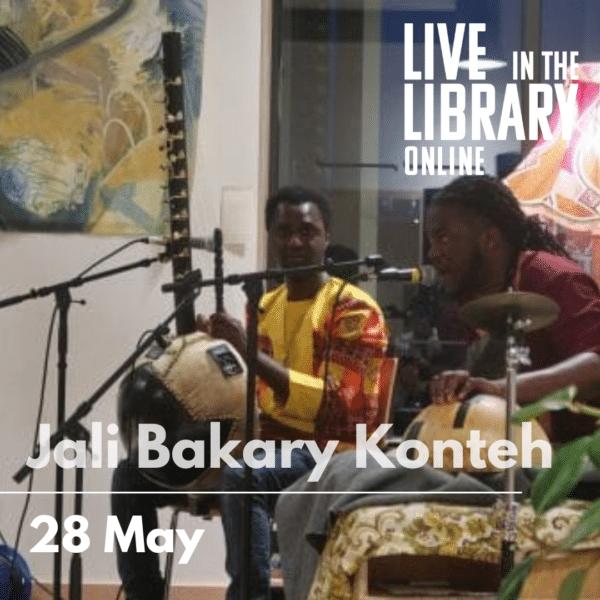 Jali Bakary Konteh, poplar union, live in the library, gigs, east london, free gigs, outdoor gigs, soul music, east london singers, choir teacher, tower hamlets, Bartlett park, poplar