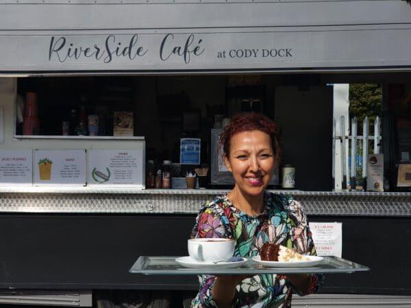 riverside cafe, poplar union, Cody dock, poplar union, membership, discounts